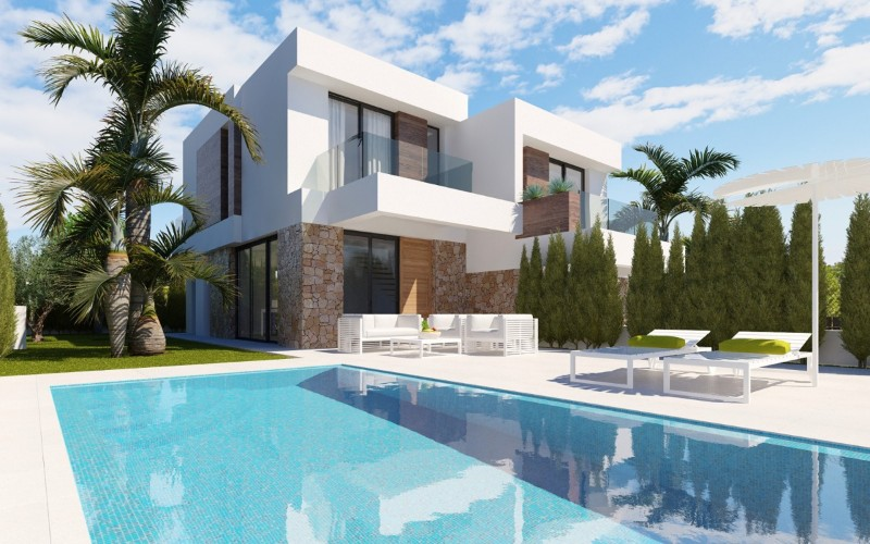 New Build - Semi Detached Villa - Alicante - Alicante