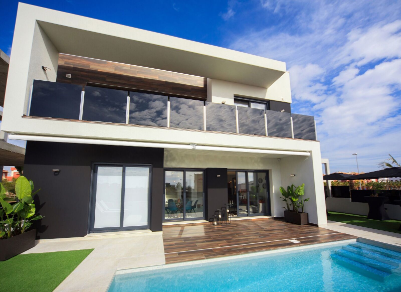 New Build - Detached Villa - Campoamor1 - Lomas de Cabo Roig